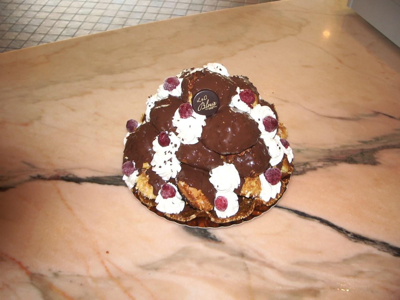 profiterolles-chocolats