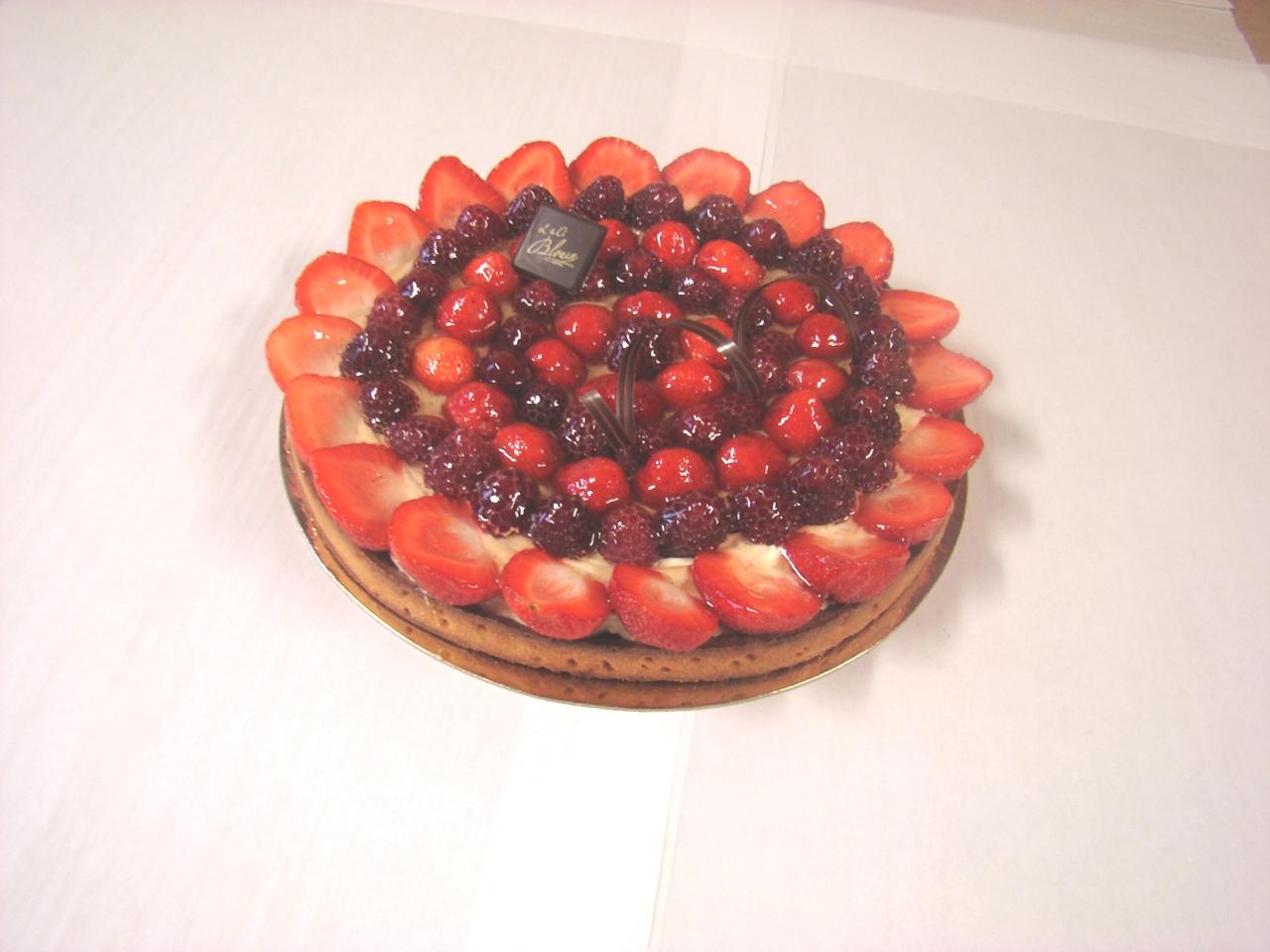 tarte-fraise-framboise