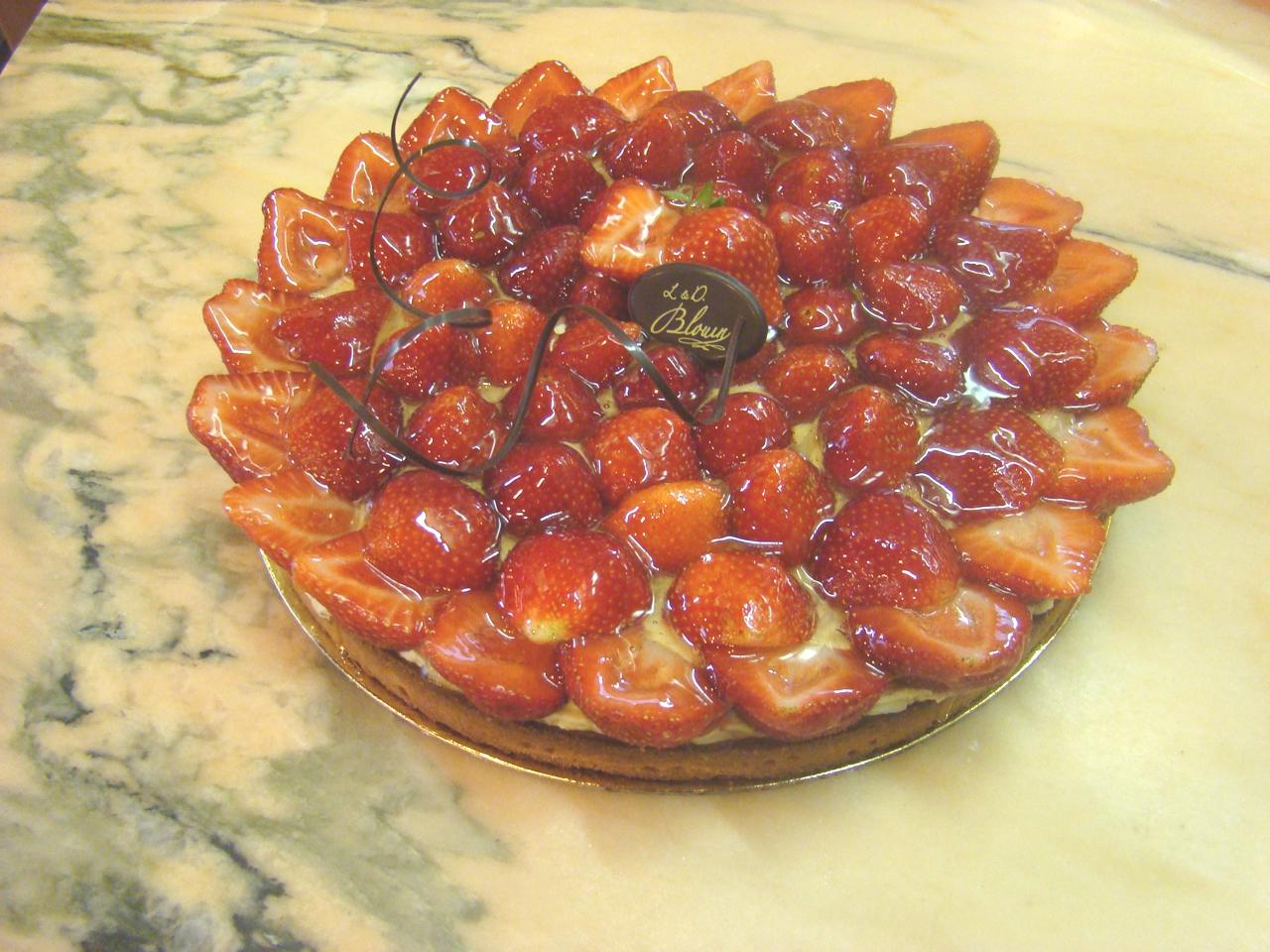 tarte-au-fraise